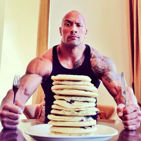 the-rock-pancakes